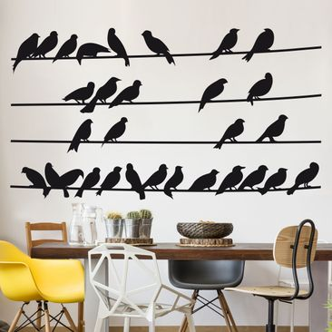 Product picture Wall Decal no.IS21 Flock of Birds