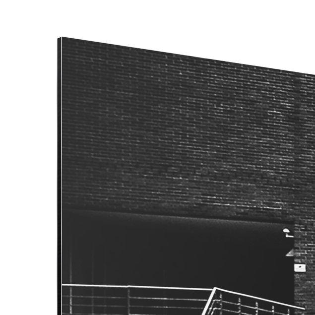 alu dibond bild hamburgs andere seite panorama quer. Black Bedroom Furniture Sets. Home Design Ideas