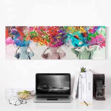 Product picture Canvas Art - Brain Explosions -...