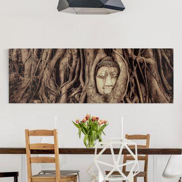 Produktfoto Leinwandbild - Buddha in Ayutthaya von...