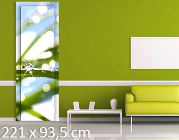 Product picture Door Wall Mural Kiss Of Sun