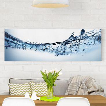 Produktfoto Leinwandbild - Fizzy Water - Panorama...