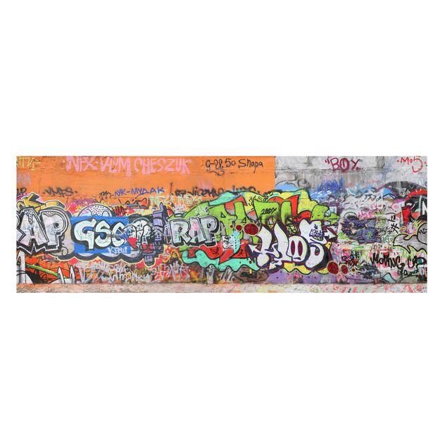 Immagine del prodotto Stampa su tela - Graffiti - Panoramico