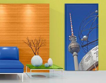 Produktfoto Türtapete Berlin - Berlin Alexanderplatz