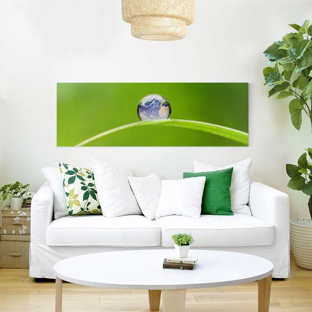 Produktfoto Leinwandbild - Grüne Hoffnung -...