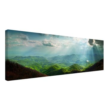 Product picture Canvas Art - Heavenly Ground - Panoramic