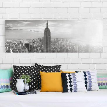 Immagine del prodotto Stampa su tela - Manhattan Skyline - Panoramico