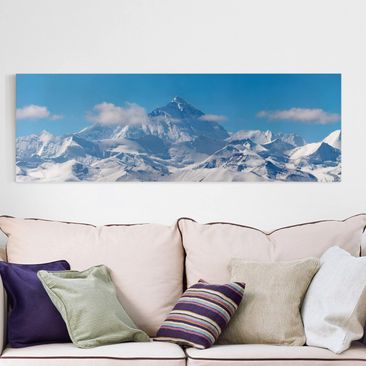 Produktfoto Leinwandbild - Mount Everest - Panorama...