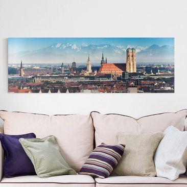 Immagine del prodotto Stampa su tela - Munich - Panoramico