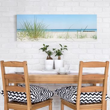 Product picture Canvas Art - Baltic Sea Coast -...