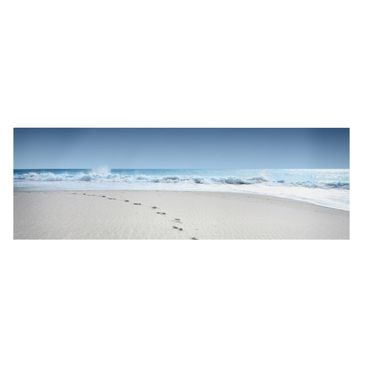 Product picture Canvas Art - Traces In The Sand -...