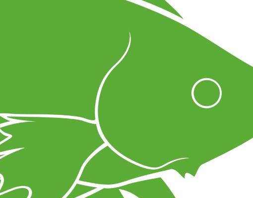 Produktfoto Wandtattoo No.IS32 Siamesischer Kampffisch