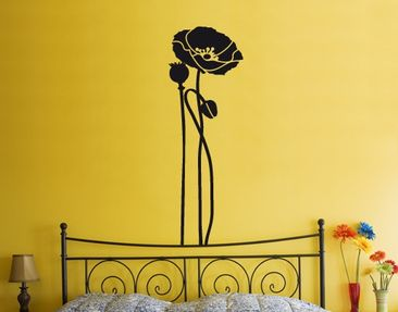 Produktfoto Wall Decal No.UL83 Poppy Triple