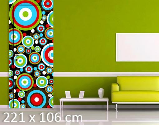 Produktfoto TürTapete Abstract