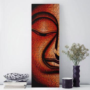 Produktfoto Leinwandbild - Buddha in Tibet -...