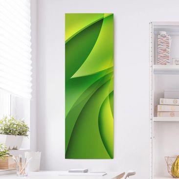 Produktfoto Leinwandbild - Green Composition -...