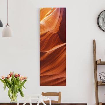 Produktfoto Leinwandbild - Inner Canyon - Panorama...