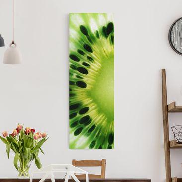 Immagine del prodotto Stampa su tela - Shining Kiwi - Pannello
