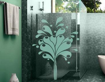 Product picture Window Sticker no.IS42 Hot Water Splash