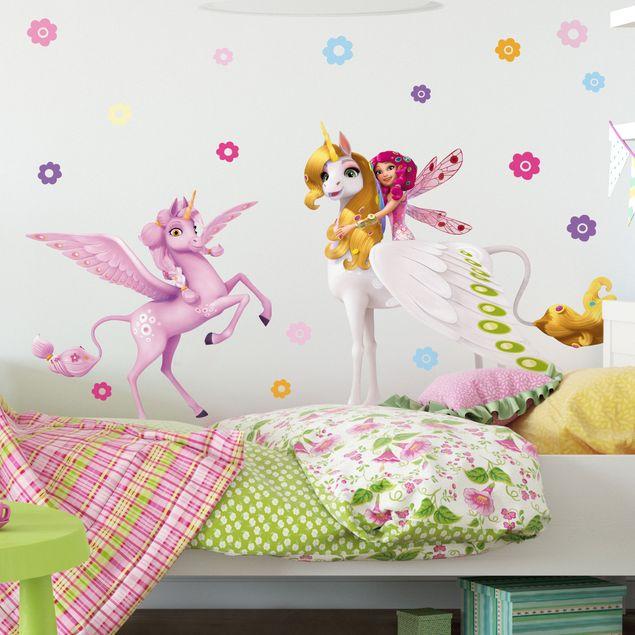 Produktfoto Wandtattoo Kinderzimmer Mia and Me - Mia, Onchao und Kyara