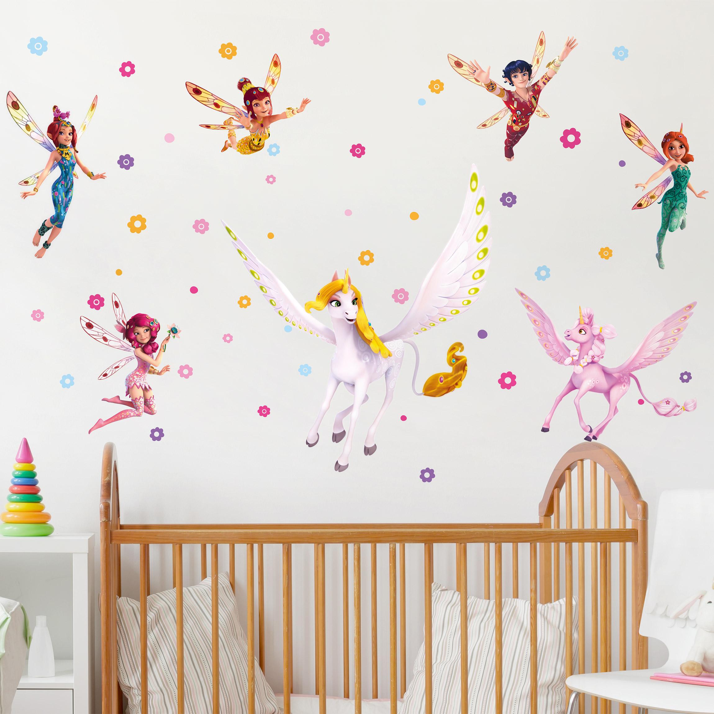 Wandtattoo Kinderzimmer Mia And Me Sara Onchao Kyara Mit Den Elfen