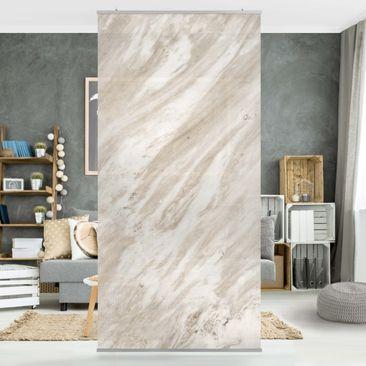 Produktfoto Raumteiler - Palissandro Marmor Beige - 250x120cm
