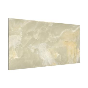 Product picture Magnetic Board - Onyx marble cream -...