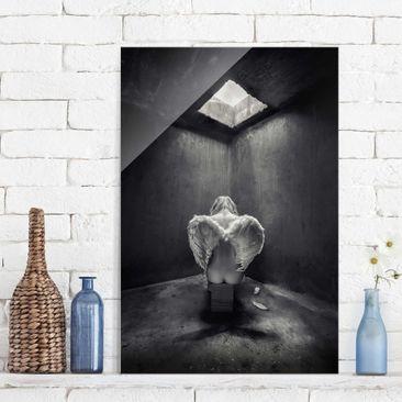 Immagine del prodotto Quadro in vetro - Busted - Verticale 3:2