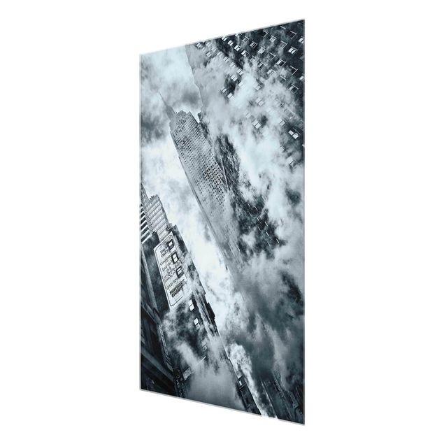 Produktfoto Glasbild - Fassade des Empire State...