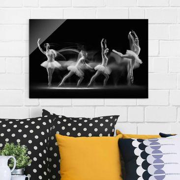 Produktfoto Glasbild - Balerina Art Wave - Quer 2:3