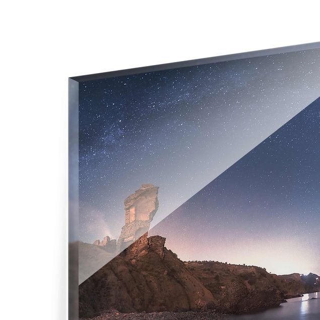 Produktfoto Glasbild - Sea of galaxies - Quer 2:3