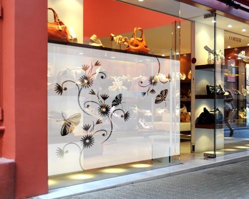 Produktfoto Fensterfolie - Sichtschutzfolie No.157 Cosmo I - Milchglasfolie