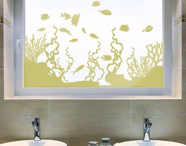Product picture Window Sticker no.IS45 Coral Reef
