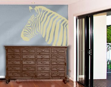 Product picture Window Sticker no.892 Rainbow Zebra II