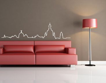 Product picture Wall Decal no.3 Skyline Dresden