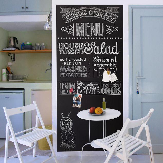 Produktfoto Tafelfolie magnetisch - Memoboard selbstklebend - Küche