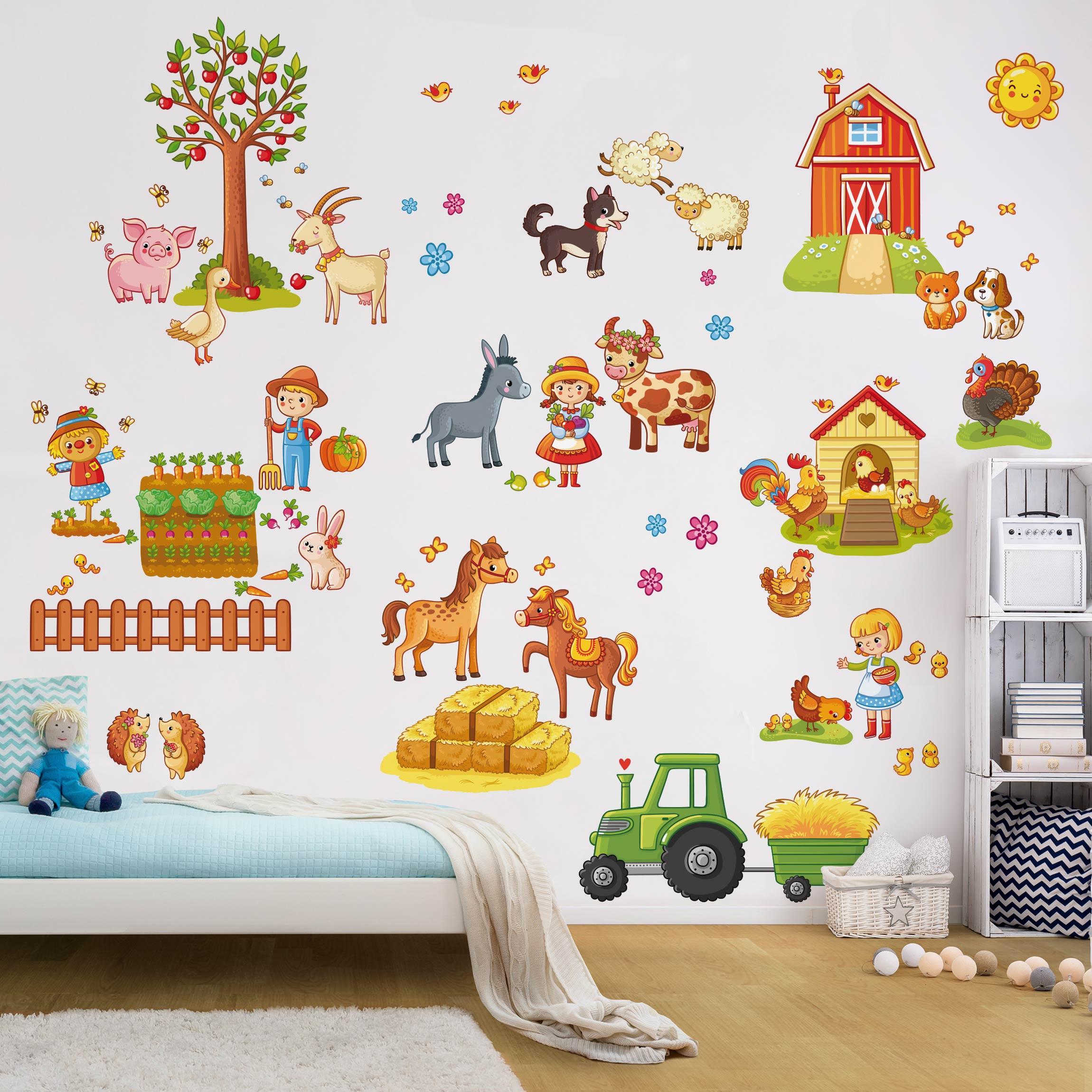 Schön Wandtattoo Kinderzimmer Ideen Von