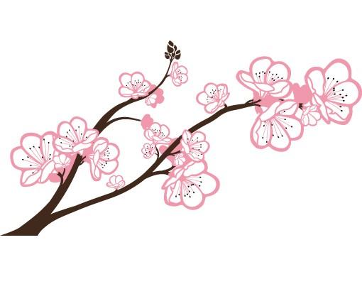 Produktfoto Fensterfolie - Fenstersticker No.TA63 Cherry Blossoms Big - Fensterbilder