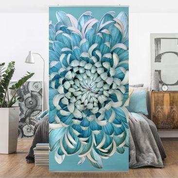Immagine del prodotto Tenda a pannello - Blue Chrysanth - 250x120cm