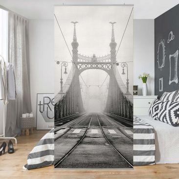 Produktfoto Raumteiler - Brücke In Budapest - 250x120cm