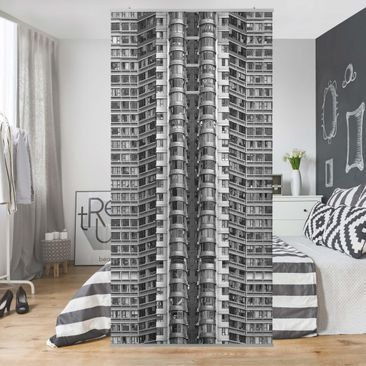 Produktfoto Raumteiler - Skyscraper - 250x120cm