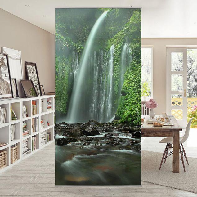 Produktfoto Raumteiler - Tropischer Wasserfall - 250x120cm