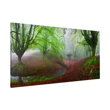 Produktfoto Magnettafel - Der Wald Marvillador - Memoboard Panorama Quer