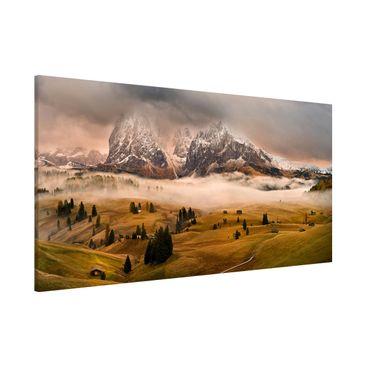 Produktfoto Magnettafel - Dolomiten Mythen - Memoboard Panorama Quer