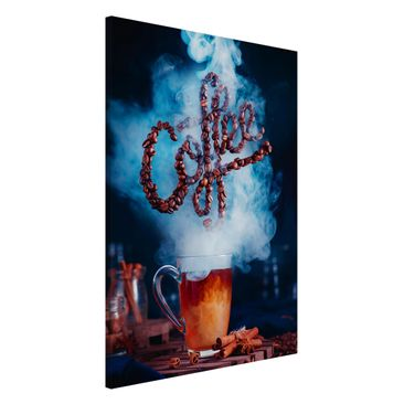 Produktfoto Magnettafel - Smell the coffee - Memoboard Hoch 3:2