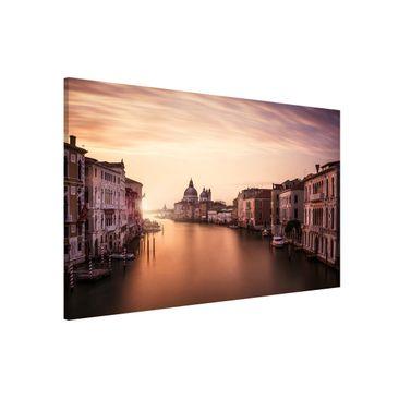 Produktfoto Magnettafel - Abendstimmung in Venedig - Memoboard Quer 2:3