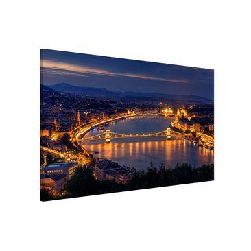 Immagine del prodotto Lavagna magnetica - View over Budapest - Formato orizzontale 3:2
