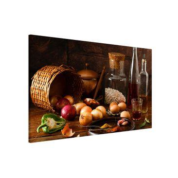 Produktfoto Magnettafel - Düfte beim Kochen - Memoboard Quer 2:3
