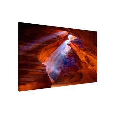 Immagine del prodotto Lavagna magnetica - Light Show in Antelope Canyon - Formato orizzontale 3:2