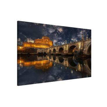 Produktfoto Magnettafel - Ponte Sant'Angelo in Rom - Memoboard Quer 2:3